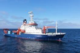 Diese Sensorik & Messtechnik nutzt das Forschungsschiff Meteor