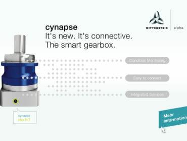 Smarte Getriebe mit cynapse im Industrial Internet of Things
