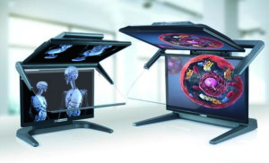 3D-Stereo-Monitor