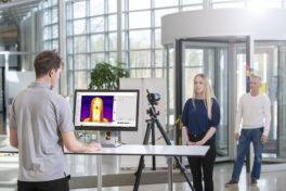 Smarte Wärmebildkamera für die Bekämpfung von Covid-19 priorisiert