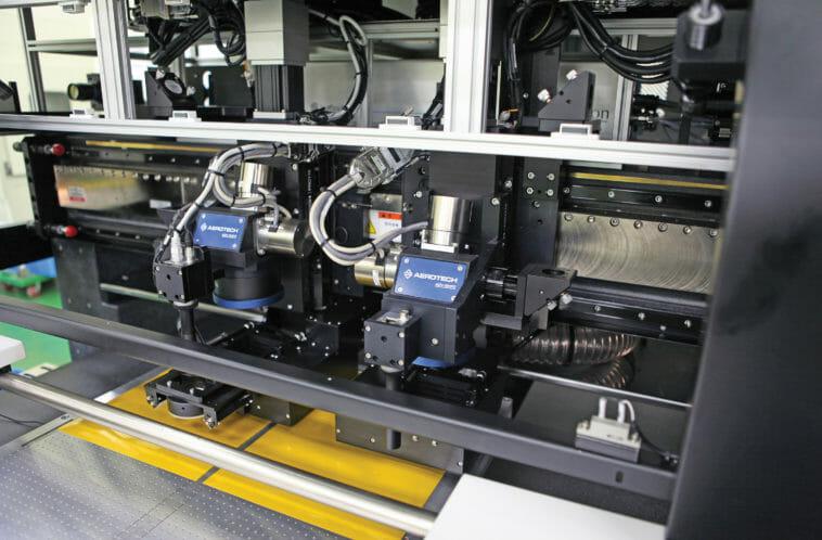 Laserschneiden: So lassen sich OLED-Displays bearbeiten