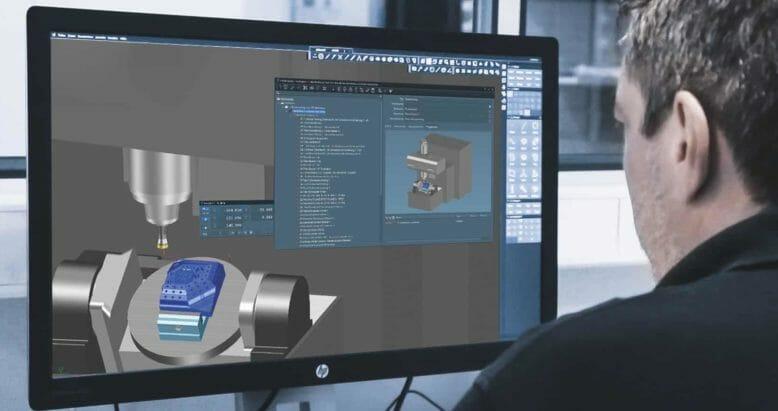 Digitaler Zwilling CAM-Lösungen Tebis