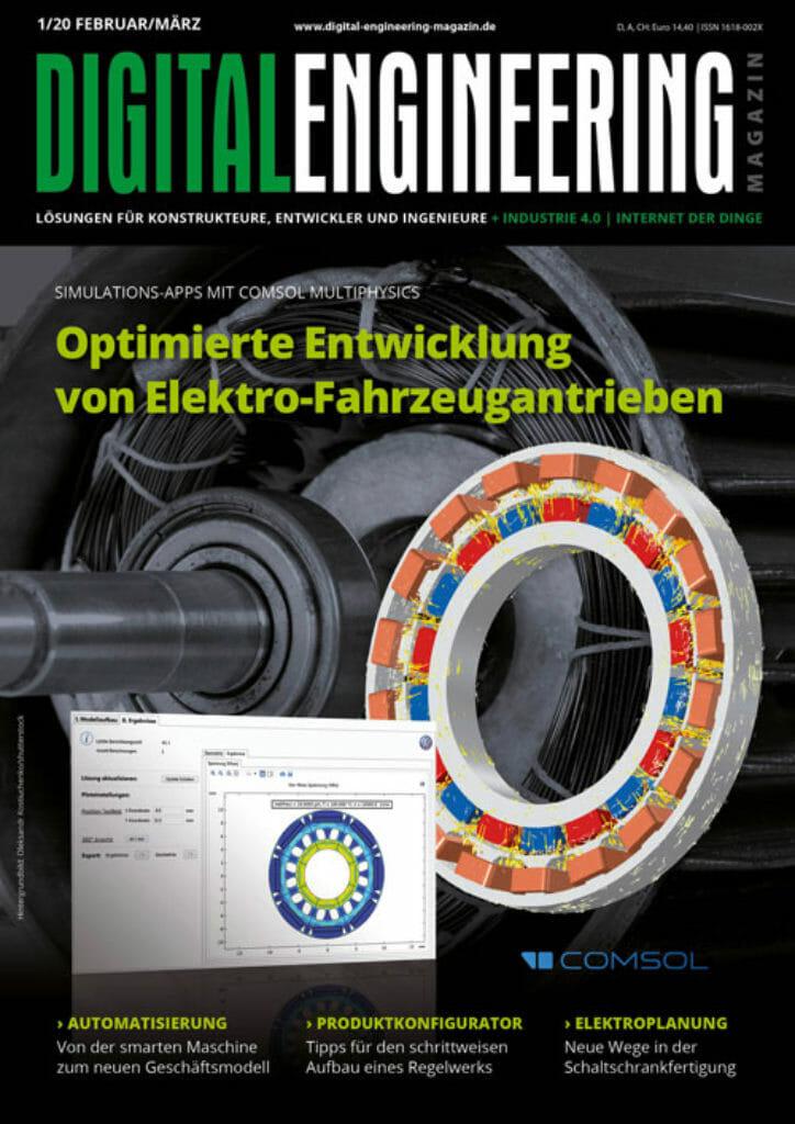 Digital Engineering Magazin 01/2020