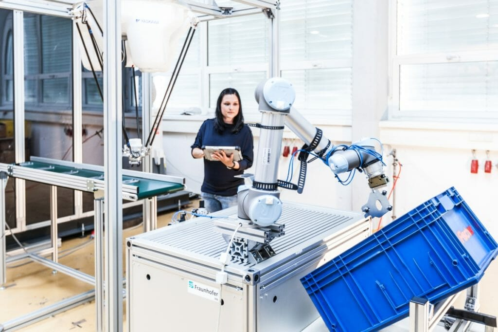 Produktionsplanung mit Roboterprogrammierung
