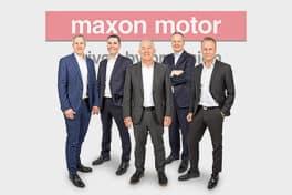 Das aktuelle globale Management von maxon (von links): Martin Zimmermann, Norbert Bitzi, Eugen Elmiger, Ulrich Claessen und Björn Axelsson.