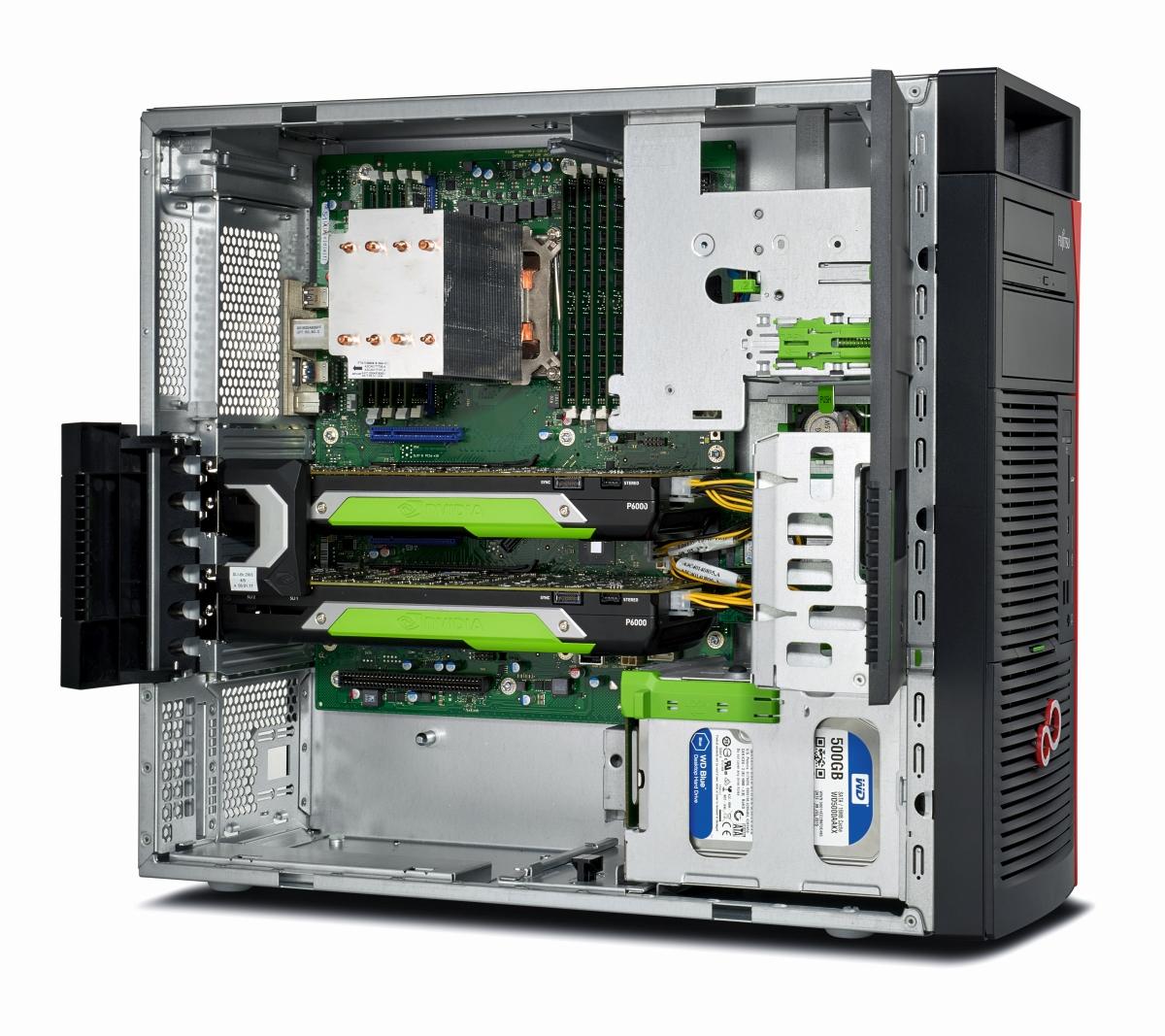 Workstations für 3D-Engineering und Kreativ-Kapazitäten