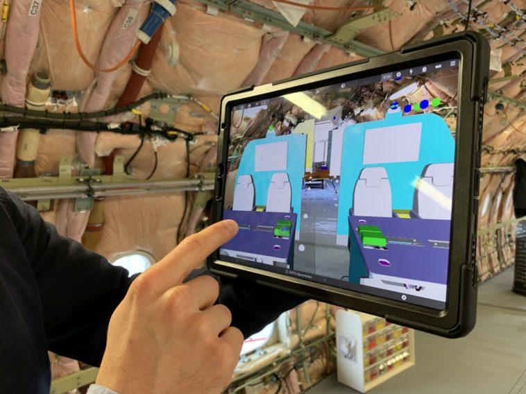 5G-Netz beschleunigt AR-Visualisierungen für den Kabinenausbau