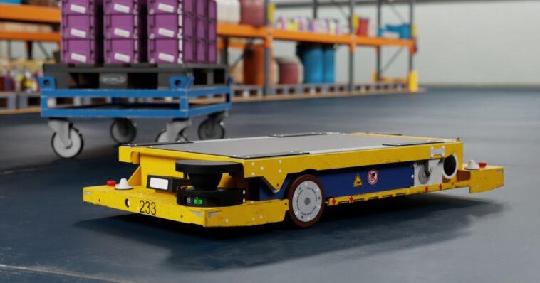 Roboterplattform von Nvidia für BMW Group