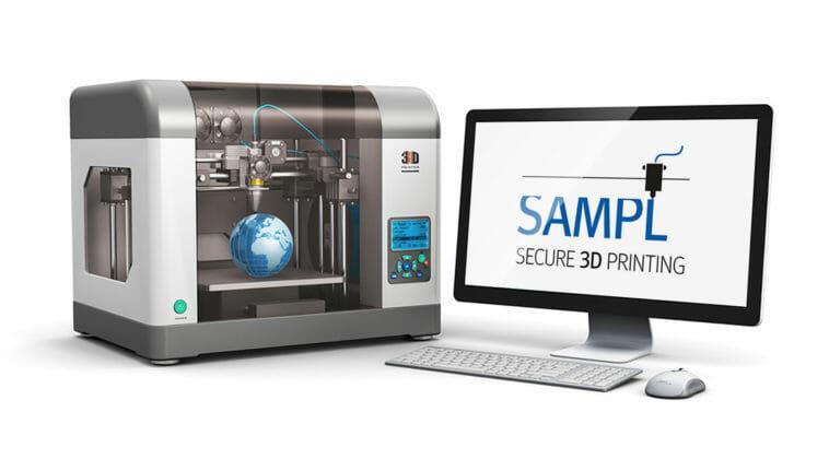 Blockchain und 3D-Druck SAMPL