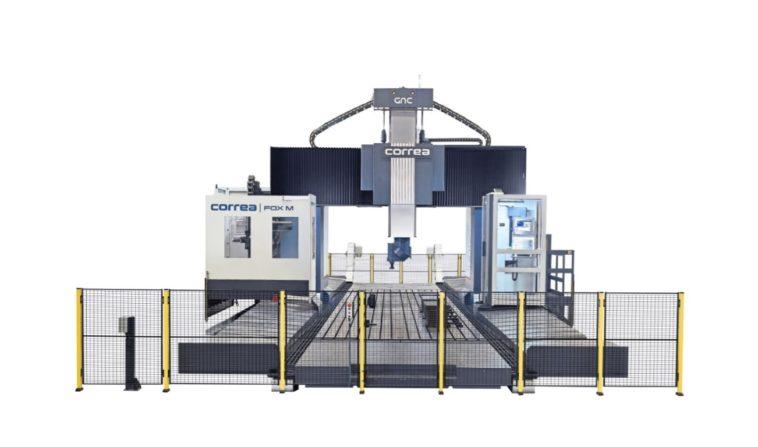 Fräsmaschinen von Correa mit Antrieben von Redex