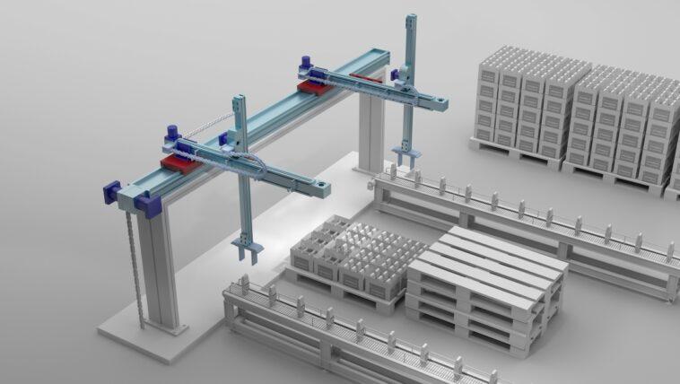 Lineartechnik für Verpackungsanlagen