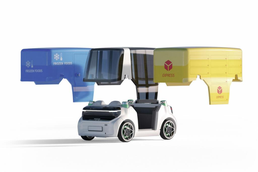 Mobiiltätskonzept Mover und autonomes Fahren
