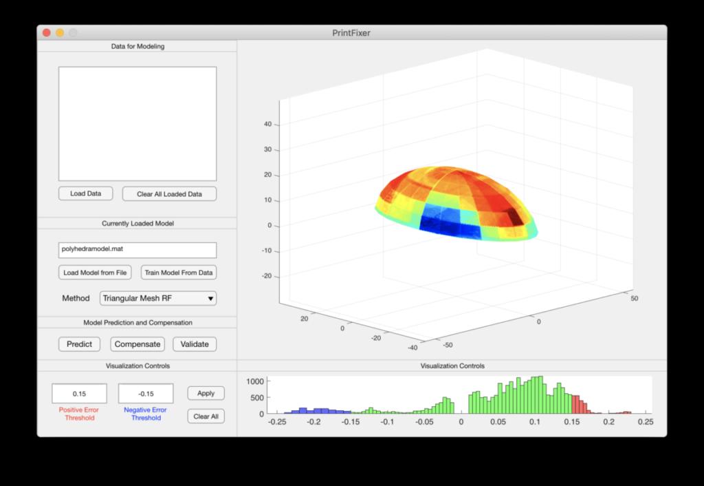 Software für maschinelles Lernen in der additiven Fertigung.