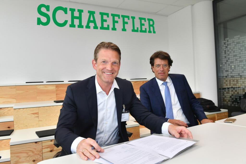 SAP und Schaeffler