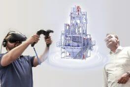 Virtual-Reality-Konferenzsystem