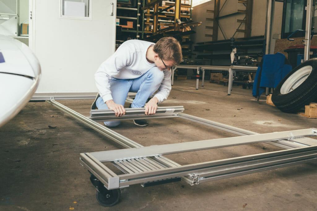 Konstruktion Item Sonnenwagen