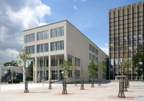 KIT, Bibliotheksbauten.