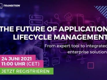 Webinar: Die Zukunft des Application Lifecycle Management