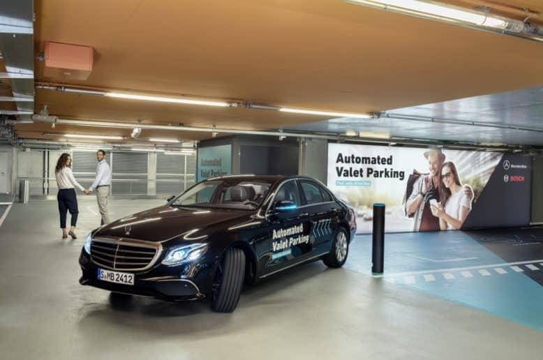 automatisiertes Parken