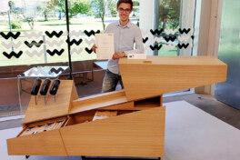 Möbelbau: Mit Industriegasfeder zum Meisterstück