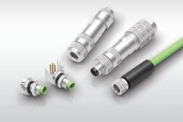D-kodierte M8-Steckbinder für die neuesten Miniatursensoranwendungen