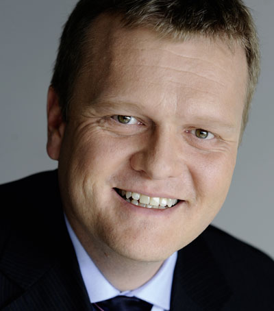 Andreas Geiss, Vice President Comos Industry Solutions, Siemens AG.