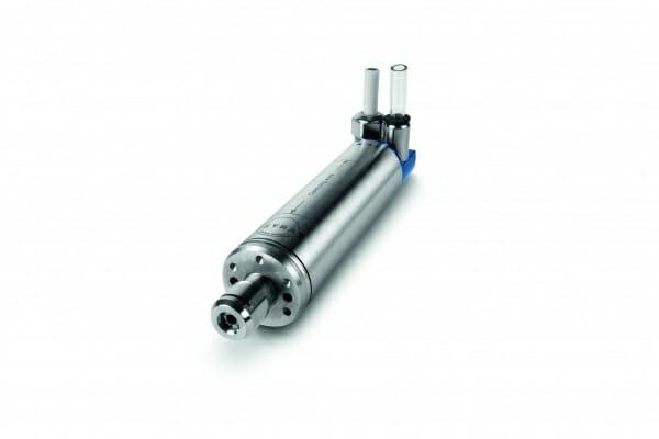 Für diese neu entwickelte Hochfrequenz-Spindel beauftragte Meyrat 2008 Sieb & Meyer mit einem maßgeschneiderten Frequenzumrichter.