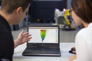 3D-Testing: Software für Vibrationsanalyse.