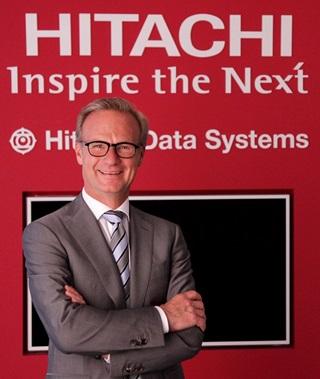 Eric Wenig ist Vice President und General Manager Hitachi Data Systems in Deutschland