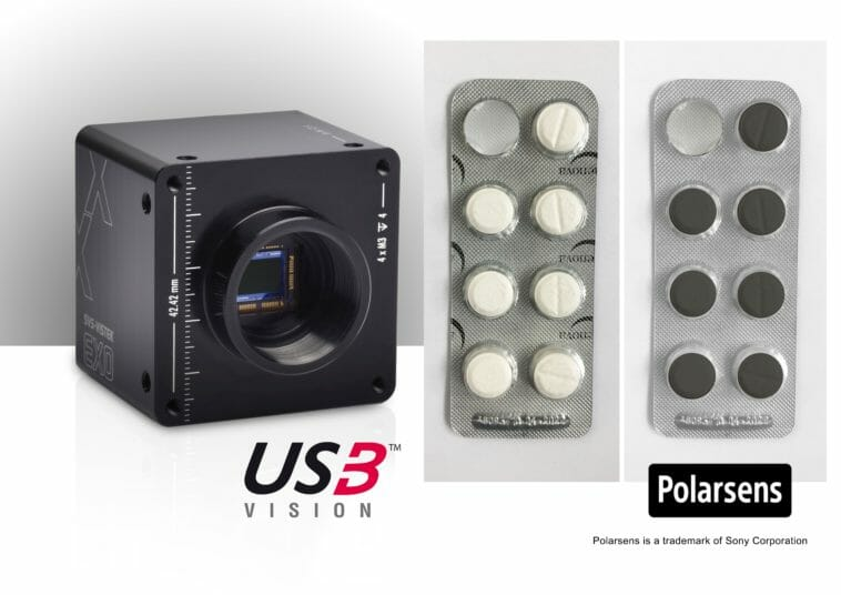Industriekamera mit polarisiertem Sensor