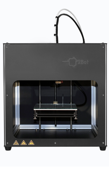 Bild 1: Der xBot von Reprap Austria erzeugt im 3D-Druck Kunststoffbauteile – schnell und präzise.