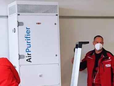 Frische Luft im Klassenzimmer: Ebm-Papst startet Testprojekt