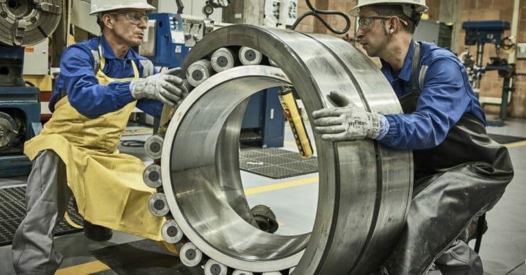 Lagerausfälle untersucht SKF im neuen Testzentrum BRAVE in Houten.