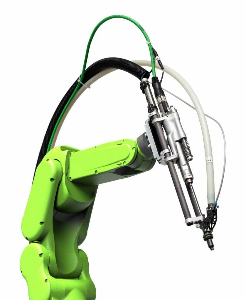Leichtbauroboter mit DEPRAG Leichtbau-SFM.