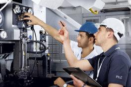 Maschinensicherheit: Pilz auf der Instand Digital 2020