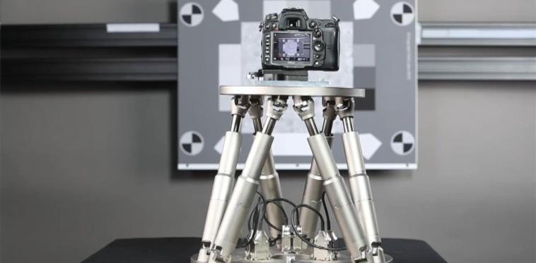 Wie Hexapoden den Kameranutzer bei Bildstabilisator-Tests simulieren