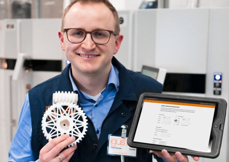Lebensdauerberechnung Zahnräder aus dem 3D-Drucker