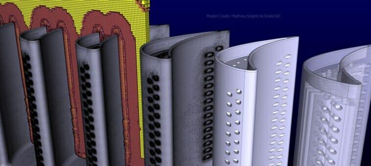 Strömungsdynamik: Automatisierte Vernetzung