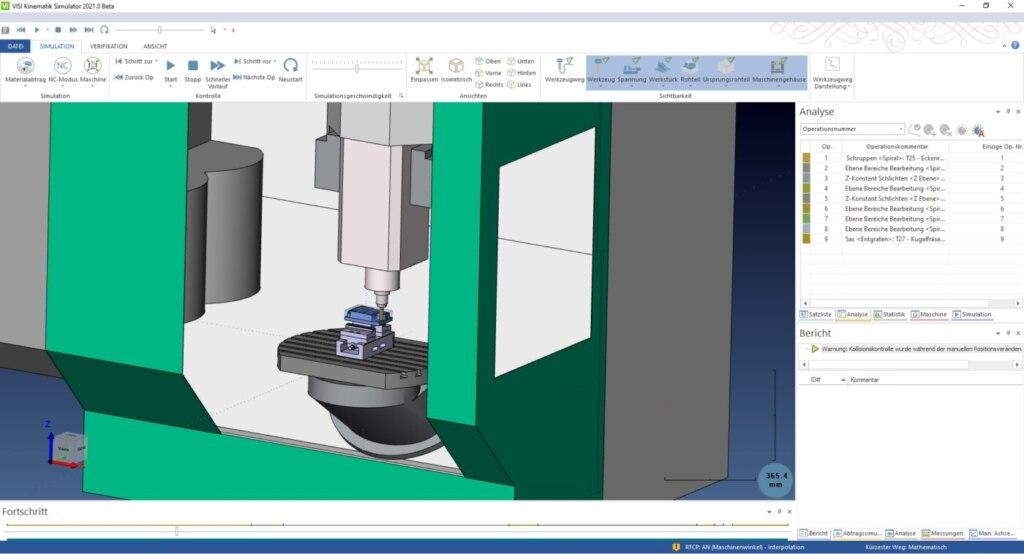 VISI 2021: Neue Funktionen für CAD, Mould und Reverse Engineering