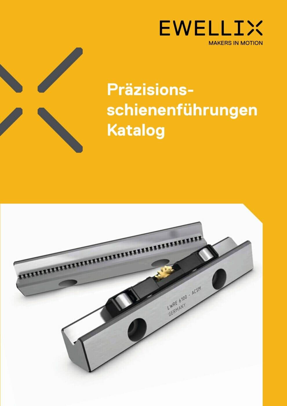 Präzisionsschienenführungen: Neuer Katalog mit Mehrwert