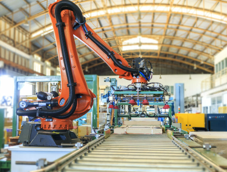 Roboter in der Logsitik