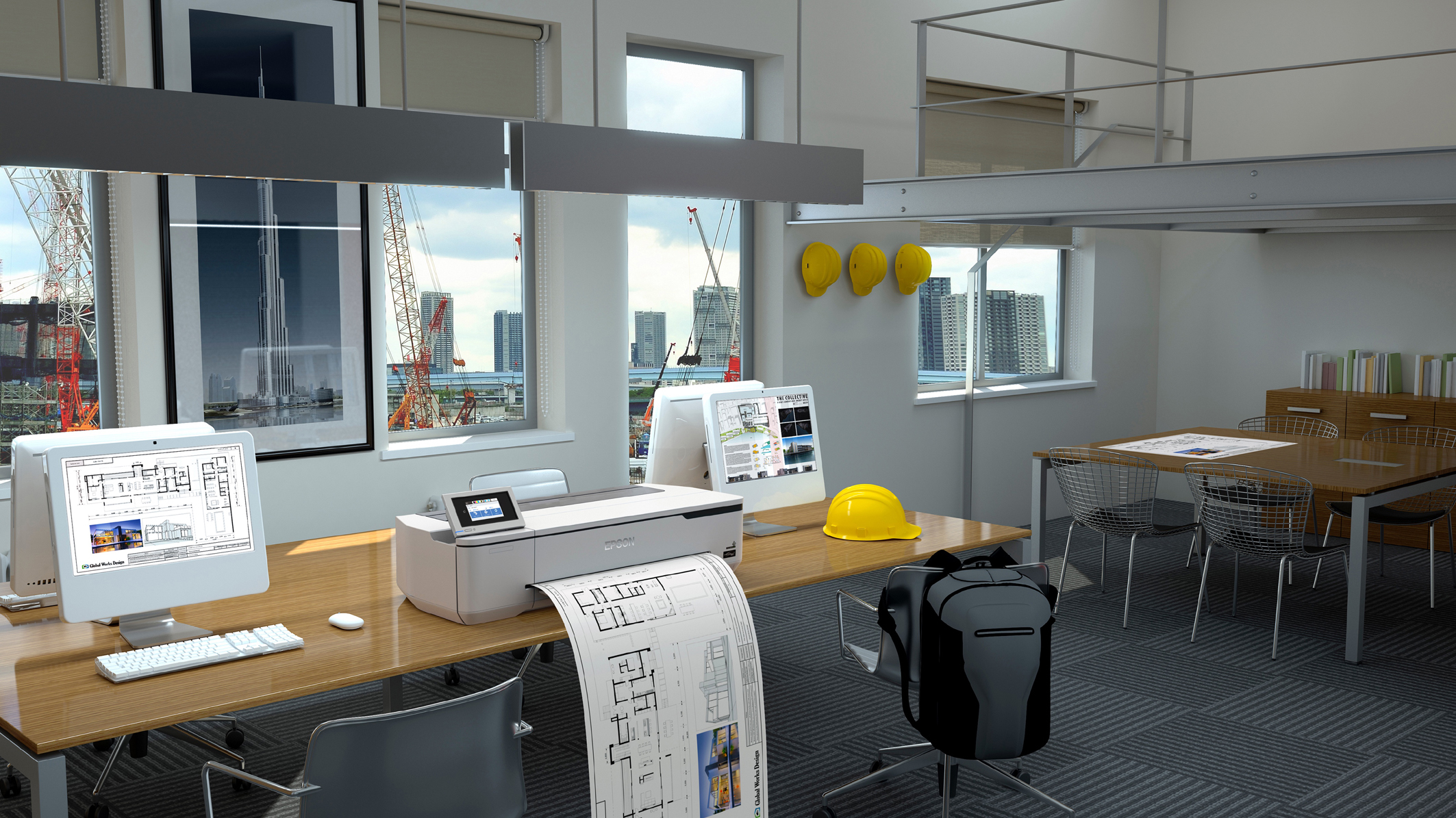 Epson sucht Architektur- und Konstruktionsbüros, die einen SureColor SC-T-3100N Großformatdrucker als Dauerleihstellung testen möchte.