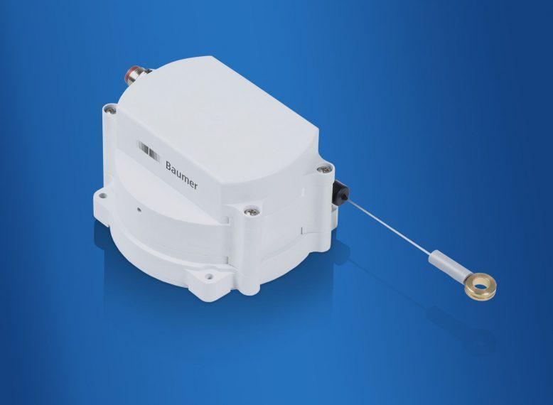Die robusten Seilzug-Wegsensoren GCA5 sind optimal geeignet für den Einsatz im Außenbereich und für Anwendungen mit beengtem Montageraum.