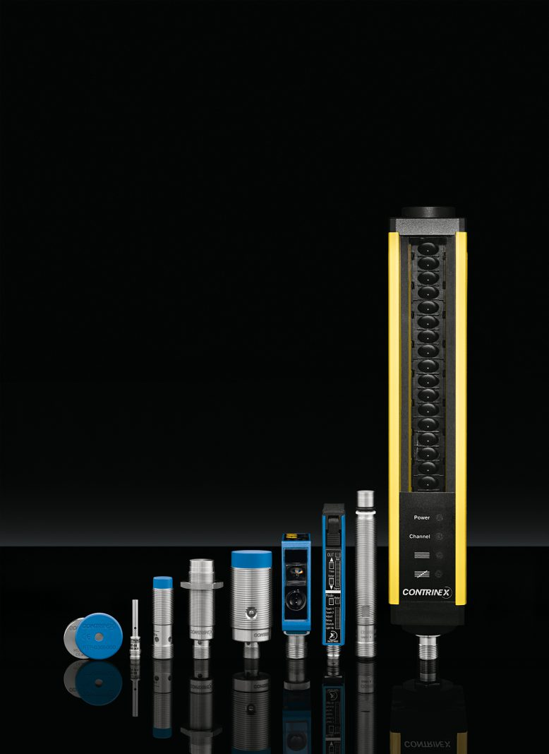 Contrinex-Produkte mit IO-Link-Funktionalitäten