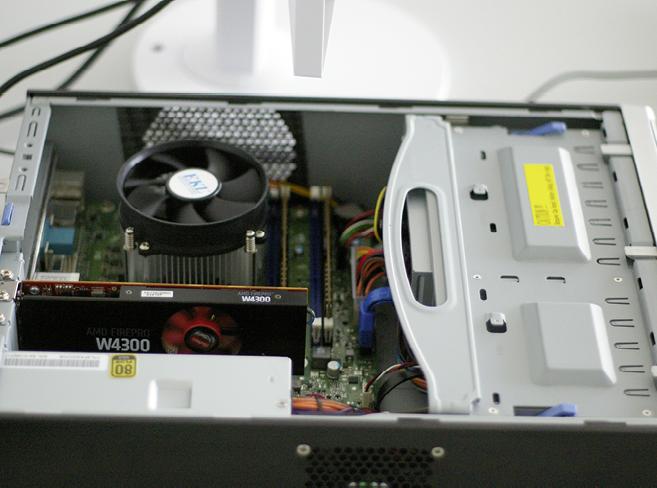 """Klein und leise: Eine Workstation im XS-Format """"SFF"""" ist ein guter Kompromiss aus ausreichend CAD-Leistung, geringem Platzbedarf und leicht eingeschränkter Erweiterbarkeit."""