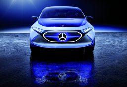 Das Showcar Mercedes-Benz Concept EQA ist ein EQ-Konzept in der Kompaktklasse.