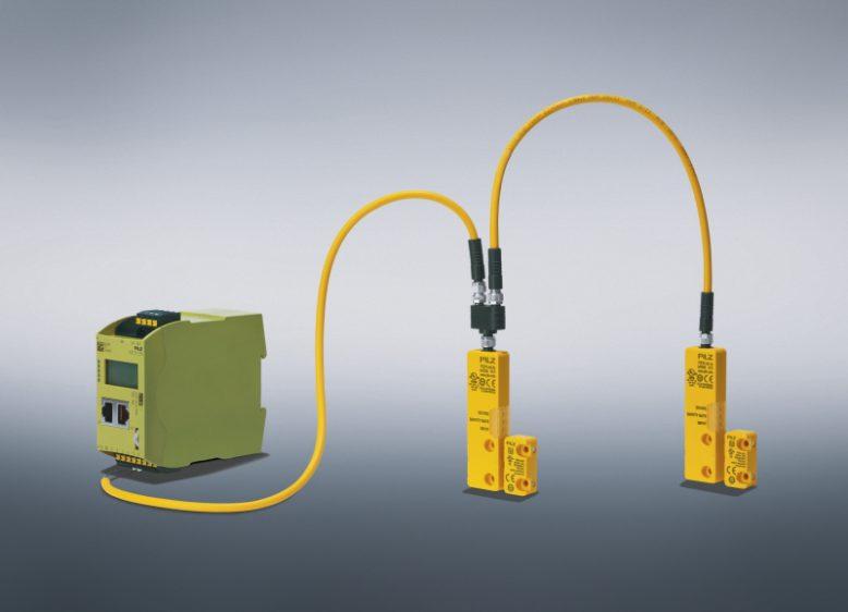 """Die neue Diagnoselösung """"Safety Device Diagnostics"""" von Pilz ermöglicht es, auch umfangreiche Sensor-Daten einfach und zudem über Distanz abzurufen."""