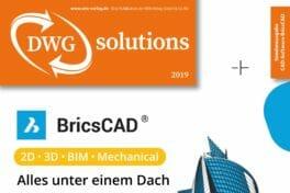 DWG solutions: Sonderausgabe BricsCAD