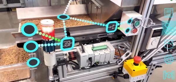 Augmented Reality: Maschinen im erweiterten Raum programmieren